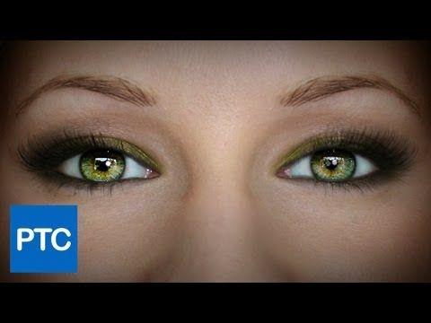 Photoshop: Creating Amazing Eyes - YouTube