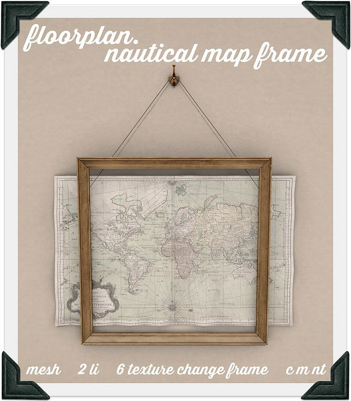floorplan. nautical map frame | Flickr - Photo Sharing!
