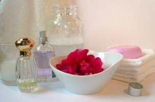Make your own bath oil beads.