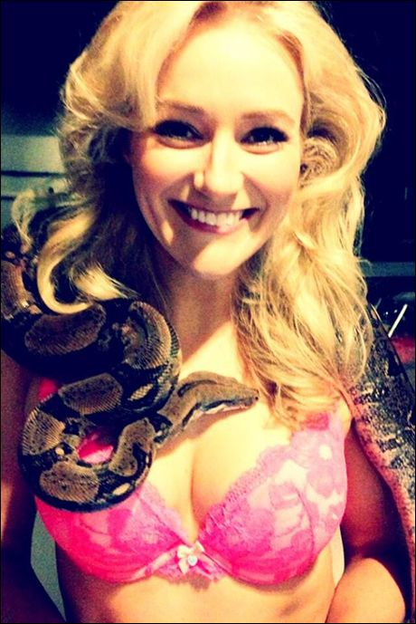 """Sharing a room with a former stripper and her snake. Wayne."" L5Y"