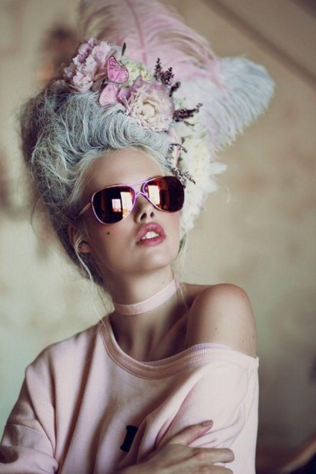 Rococo Inspired ~ wildfox sunglasses