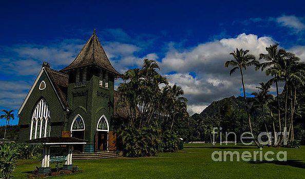Church on Kauai by Charlene Gauld
