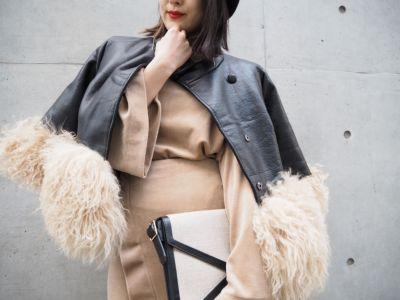 裾ファージャケット ¥13800+TAX