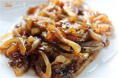 Cómo hacer CEBOLLA CARAMELIZADA de todas las formas: en la THERMOMIX; sin AZUCAR; con MIEL; al MICROONDAS y la salsa de cebolla caramelizada