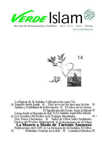 Ruiz Romero, Manuel.    El resurgir de Al Andalus : [Blas Infante] / Manuel Ruiz Romero.     En: Verde Islam. -- 14, 17-11-2013.