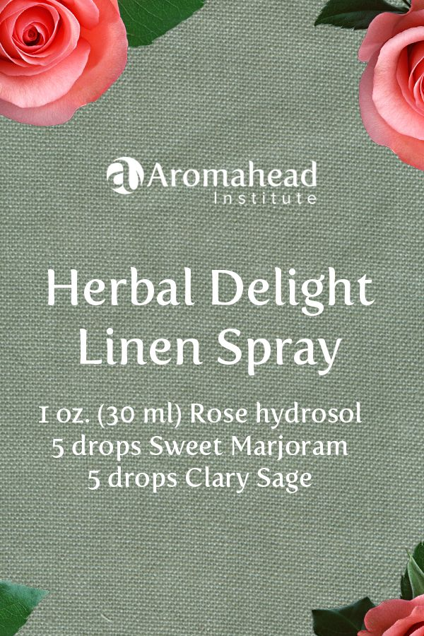 Herbal Delight for emotional balance! Essential oils