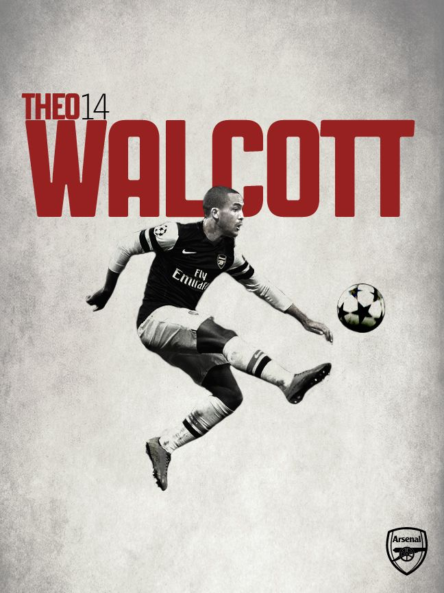 The man, Theo Walcott. The very next Thierry Henry.