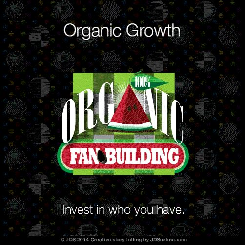 Social Media is the New Word of Mouth. And Organic Growth is what we talk about.