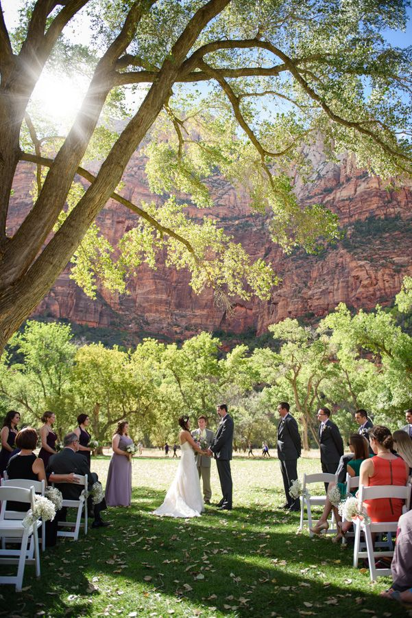 Zion National Park Wedding 2016 Lodge