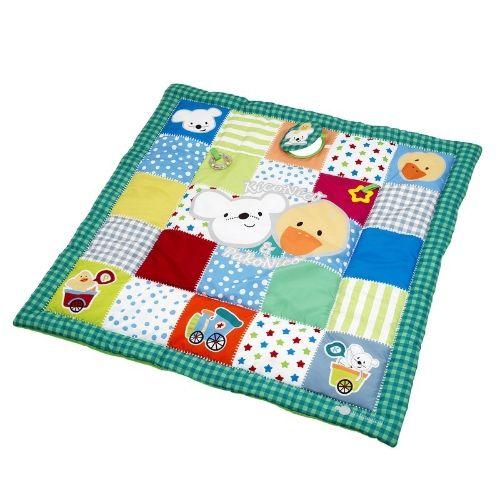 Manta De Juegos Acolchada Para Estimular A Tu Bebé Bebe Estimulacion Manta Manta De Actividades Tapetes Para Bebes Juguetes De Fieltro