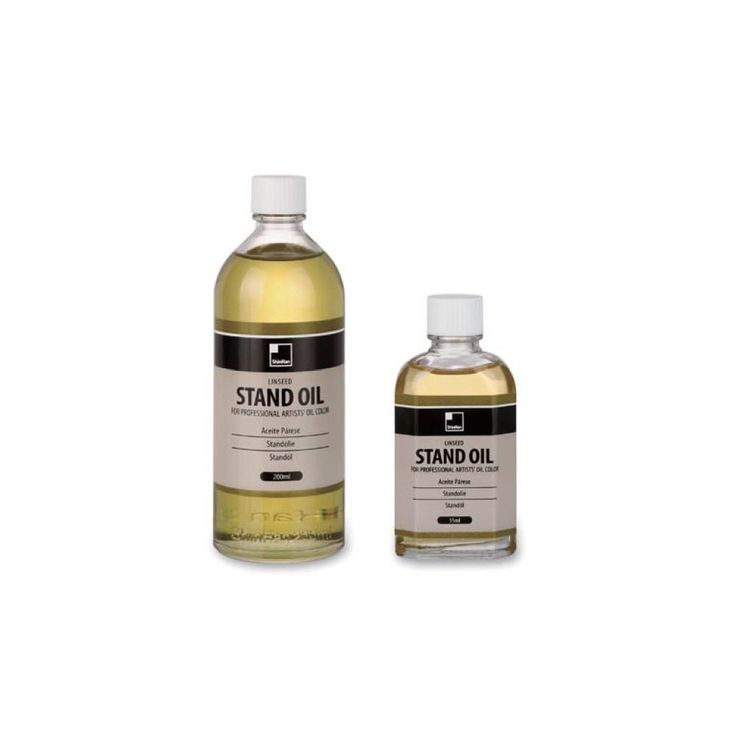 Stand Oil Shinhan Oil Paint Auxiliaries 55ml 200ml, Artist Painting Drawing #Shinhan