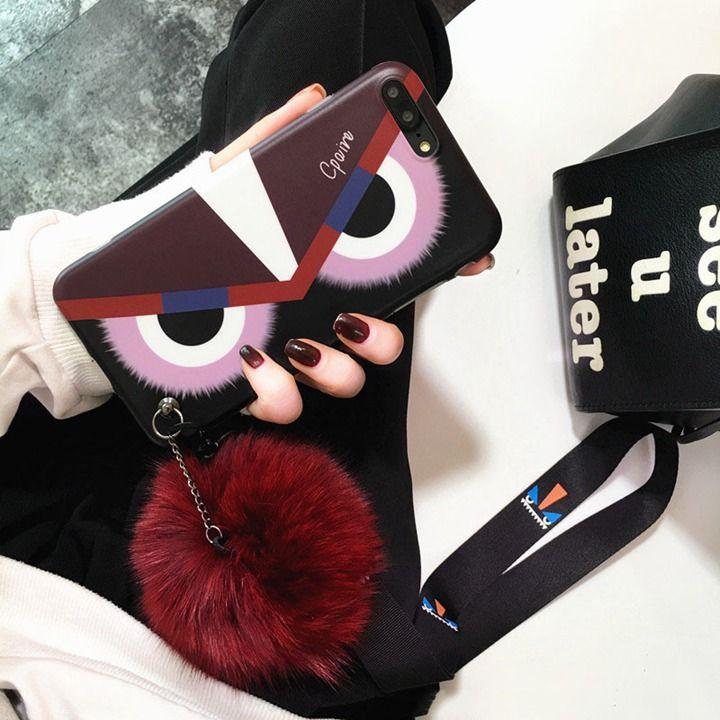 big sale 0c672 92a1b モンスター iPhonex ケース FENDI パロディ iphone8plus カバー ...