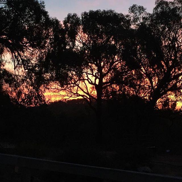 Sunset tonight, beautiful colours
