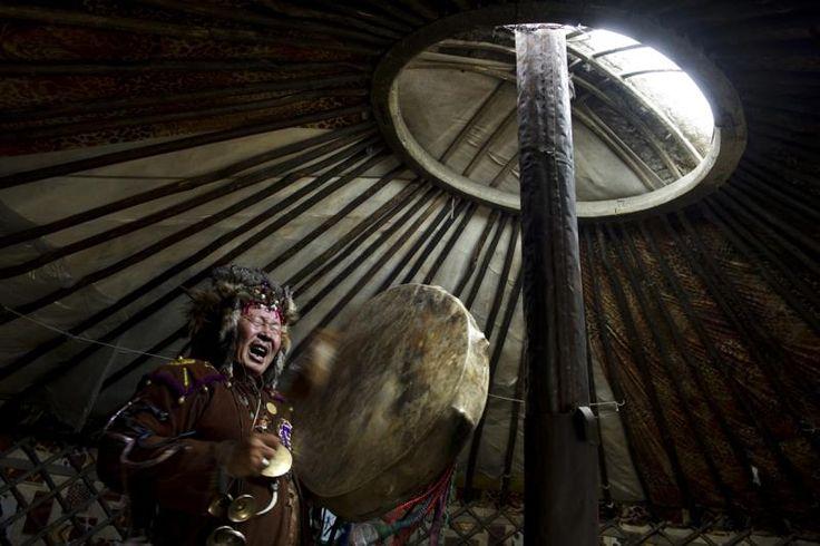 Renaissance of shamanism in Siberia, Russia. Taken in Republic of Tuva, 2002-2013, by Prague-based documentary photographer Stanislav Krupař   http://krupar.com/