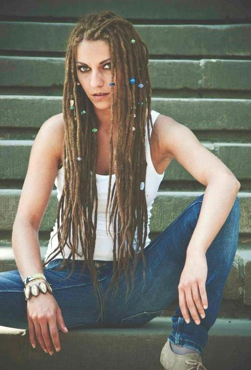 These are the small dreads I want! Le sigh