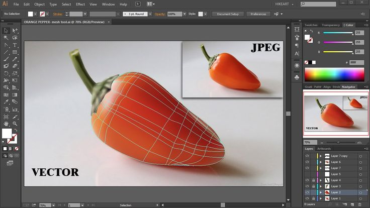 Imagine if, within minuets, your favorite photograph could be a vector. See how Illustrator's Mesh Tool can reformat your world. #AdobeIllustrator #Adobecreativecloud #libertysada