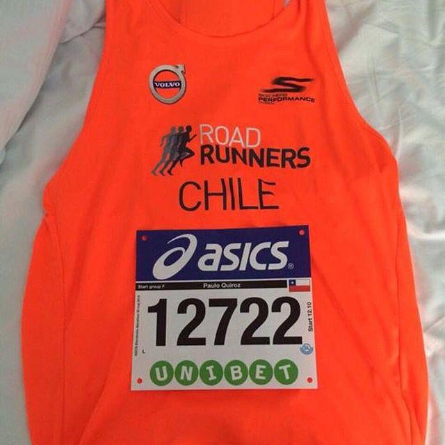 Nuestro socio a distancia Paulo Quiroz corrió hoy el Maratón de Estocolmo cronometrando 4:08:41. Felicitaciones