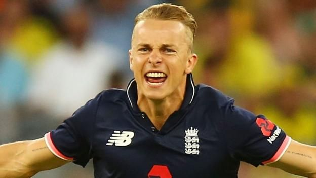 England beat Australia in thrilling first ODI at Perth's new Optus stadium  ||  Tom Curran takes five wickets as England win the final one-day international against Australia by 12 runs in Perth. http://www.bbc.co.uk/sport/cricket/42849823