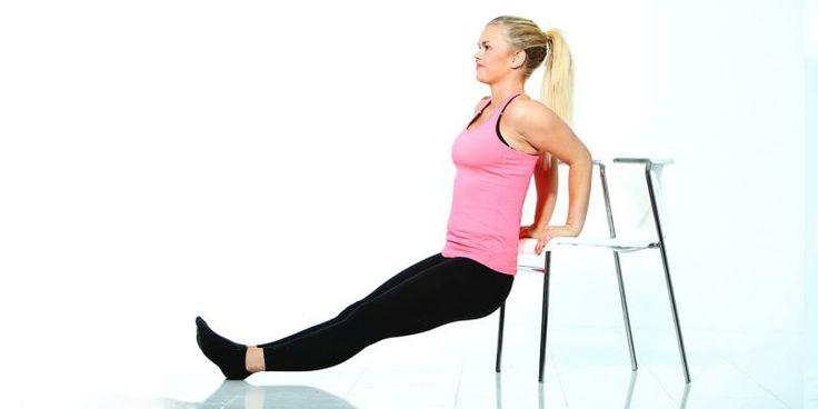 Stramme armer - Øvelsen gir supersterke triceps - Trim og Trening