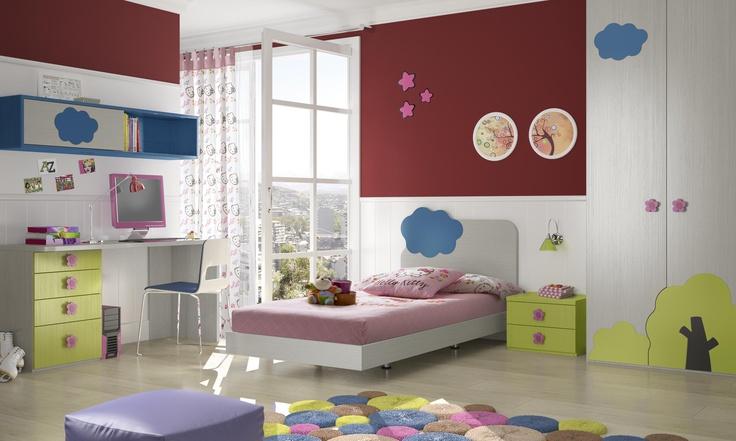 39 best cunas images on pinterest convertible crib cribs and desks - Habitaciones tematicas infantiles ...