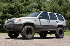 """Press Release #5 4"""" Suspension Lift–1993-98 Jeep Grand Cherokee 4wd Price: $639.95 Coldwater, MI — August 13, 2008 — There are only a handful of companies making suspension lifts for the Grand Cherokee crowd. Zone Offroad Products has recently stepped up to the plate with their complete suspension system designed to raise your 93-98 Grand …"""