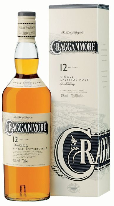 One of my current whiskies, a father's day present: Cragganmore 12 year Single Speyside Scotch Whisky.