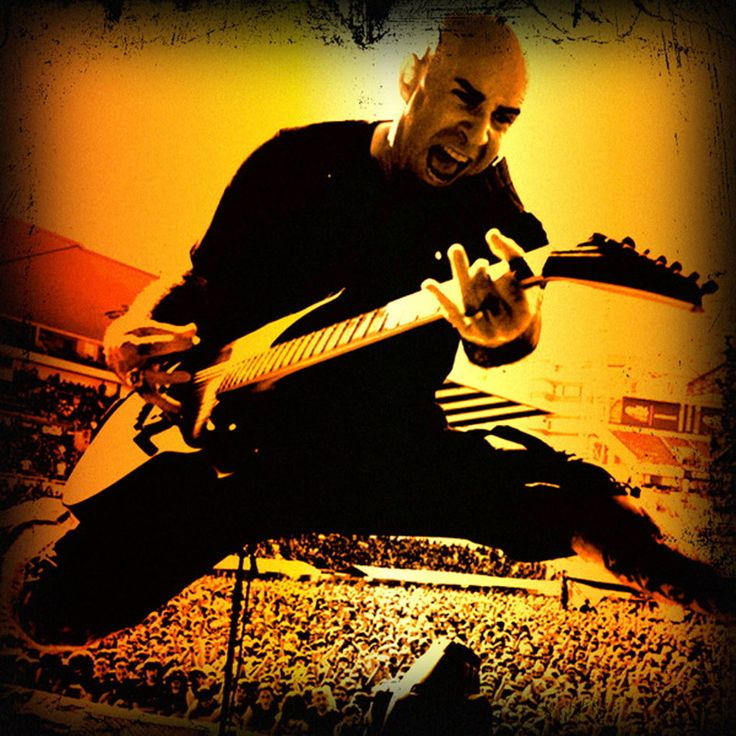 Anthrax Band Scott Ian | ... band's lead singer change three times. But Scott Ian, Anthrax's co