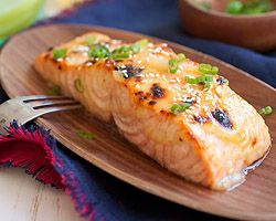 Miso-Glazed Salmon - Easy Recipes at RasaMalaysia.com