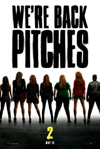 Pitch Perfect 2 Movie Poster 2015 24 X 36 THICK  Anna Kendrick Hailee Steinfeld Alexis Knapp  Rebel Wilson -- Want additional info? Click on the image.