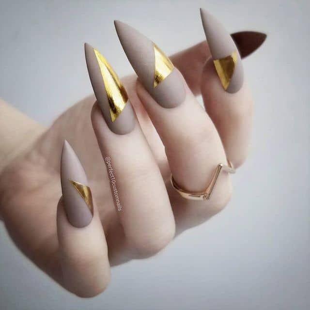 50 atemberaubende Stiletto Nail Ideen, die Ihre Welt rocken werden – Goth nails