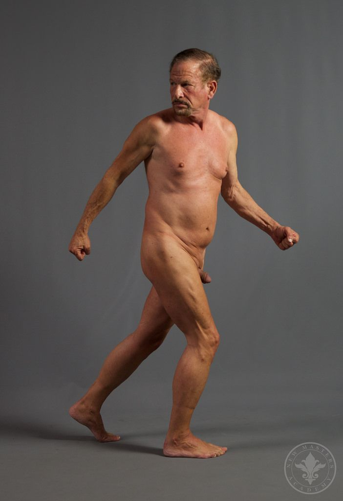 Drawing reference figure nude
