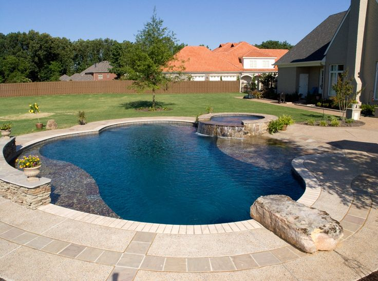 20 best pool features & accents images on pinterest