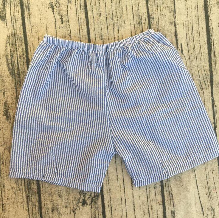 Hot Summer Boys Seersucker Shorts Children Swim Shorts Baby Fashion Clothes Online