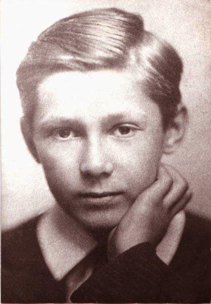 Peter Llewelyn Davies at Thirteen