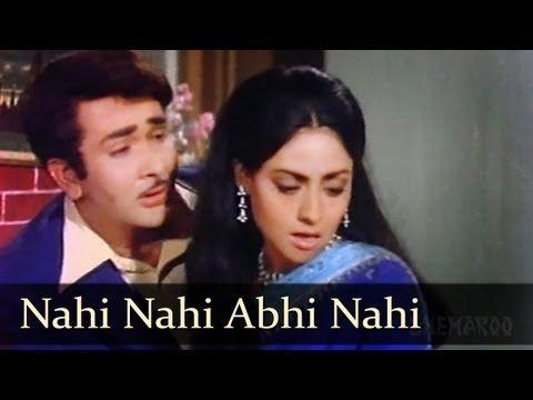 ▶ Nahi Nahi Abhi - Randhir Kapoor - Jaya Bhaduri - Jawani Diwani Songs - Kishore Kumar - Asha Bhosle - YouTube