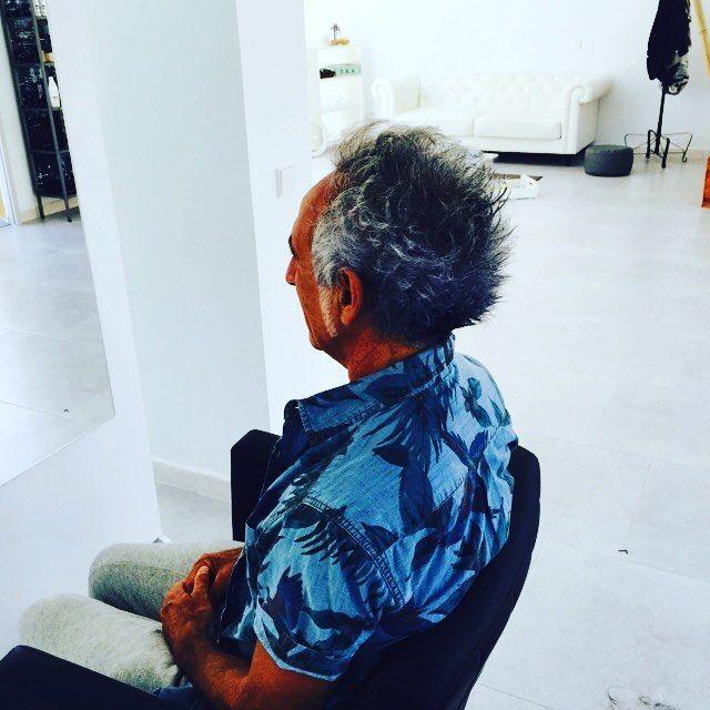 Cambio de look al brasileño elio! Gracias por confiar en #imperfectsalon #sitges ! Que tengais un feliz dia chic@s #look #hairstyle #sitgesstyle