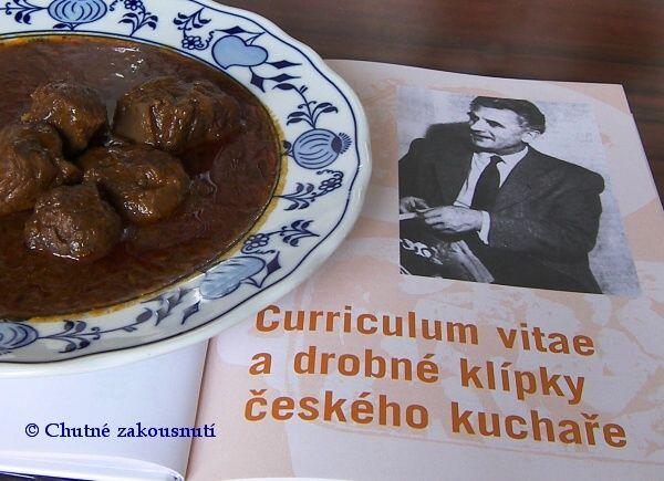 Hovězí guláš z kuchyně Jaromíra Trejbala