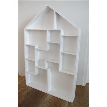 New White Wooden Display Cabinet