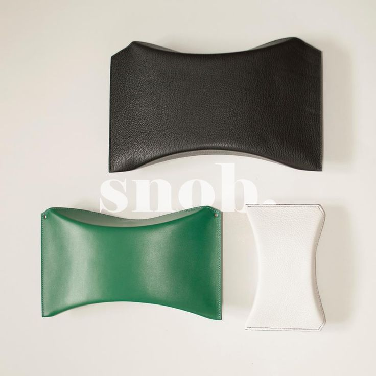 The original, the mini and the oversized...Pillow Box. #snob #snobdot #leather #clutch