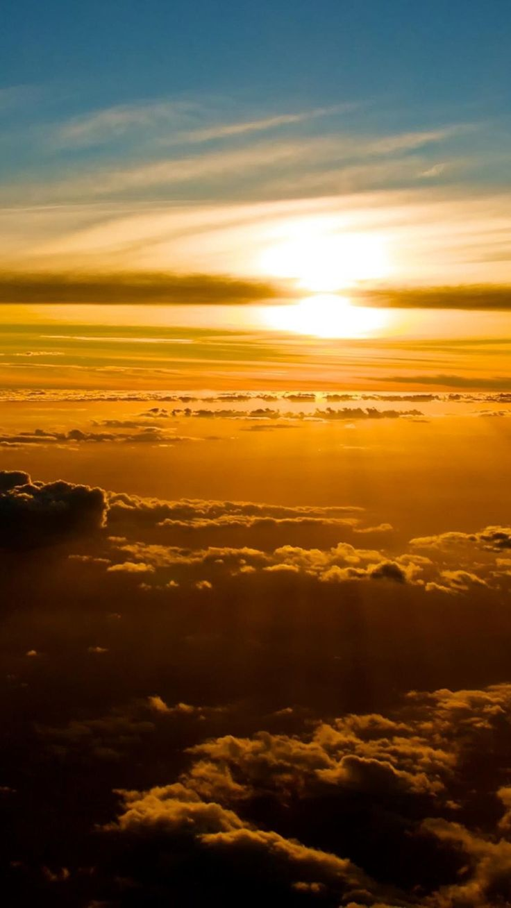 Above the Clouds Background iPhone 6 Plus Wallpaper 33865
