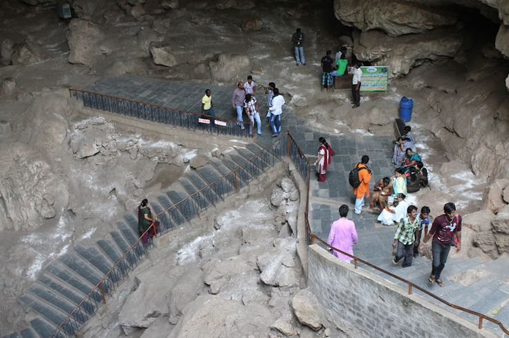 Dippest caves in the india (Borra caves)