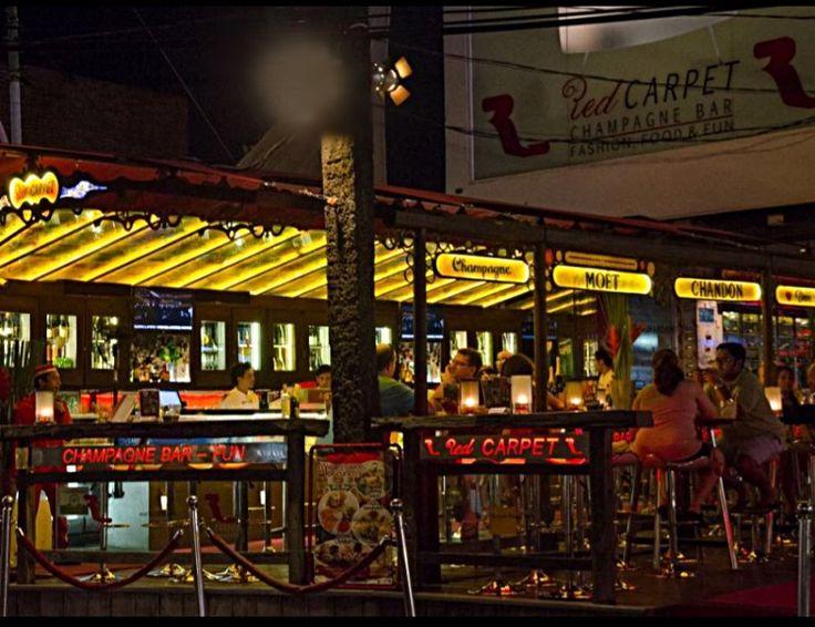 Seminyak, Bali - Bars: Red Carpet Champagne Bar, Jl Kayu Aya (10min walk)