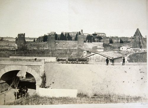 Strada ferrata da Roma a Civita-Vechia. Cavalcavia di S. Paolo, Rome 1855-1865