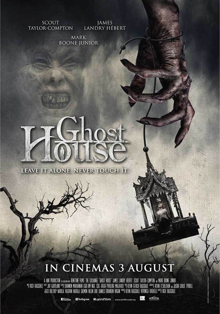 Ghost House Movie Poster Ghost House Horror Movie Posters Horror Movies