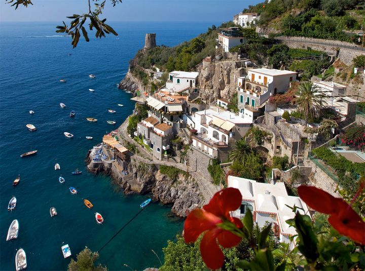 Amalfi Coast  Get a look on Naples, Capri island and Pompey from the sky. The price is a little bit pricey, about $550 per person for 50 minutes based on 6 passengers.