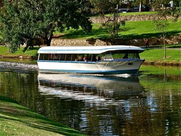 Adelaide's popeye on the River Torrens