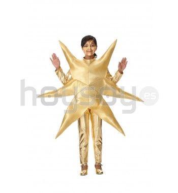 #Disfraz de #Estrella de #Belén perfecto para esta #Navidad #Disfraces