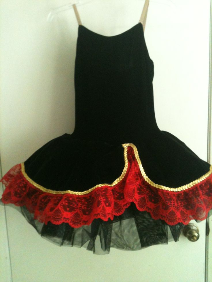 Forward progress on Spanish costume.