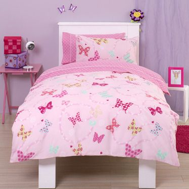 pink butterfly bedroom flutter around butterfly single amp bedding 12858