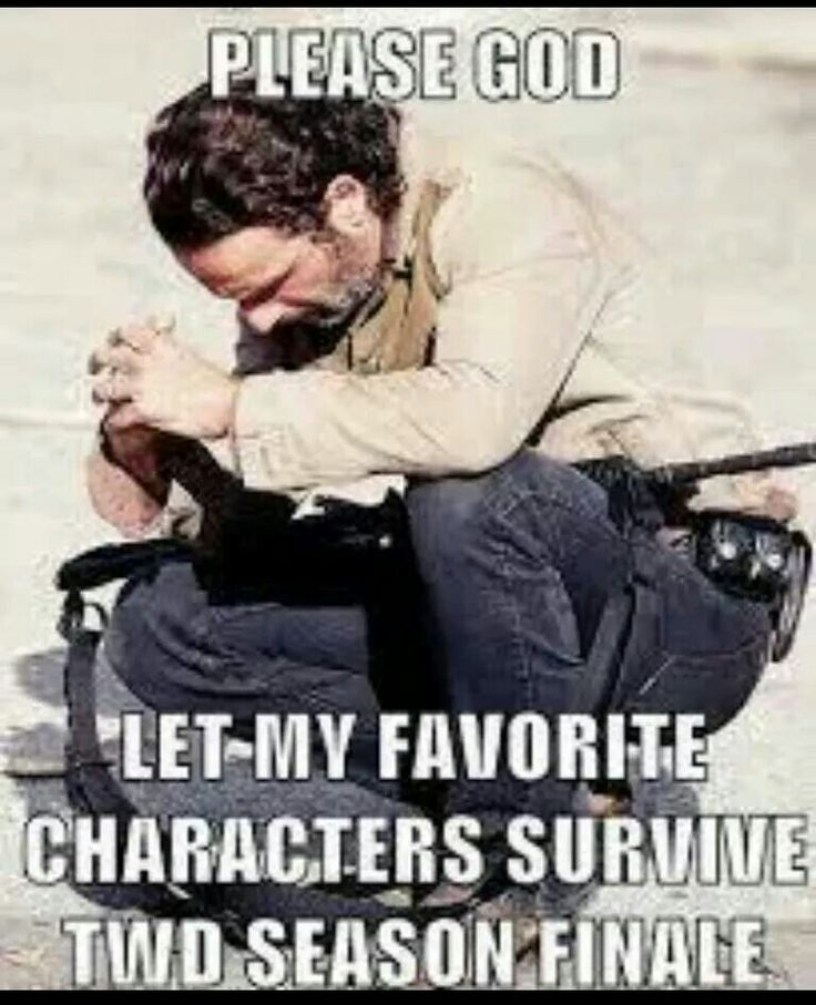 Don't die Daryl<<<<This is me before every episode let alone the finale